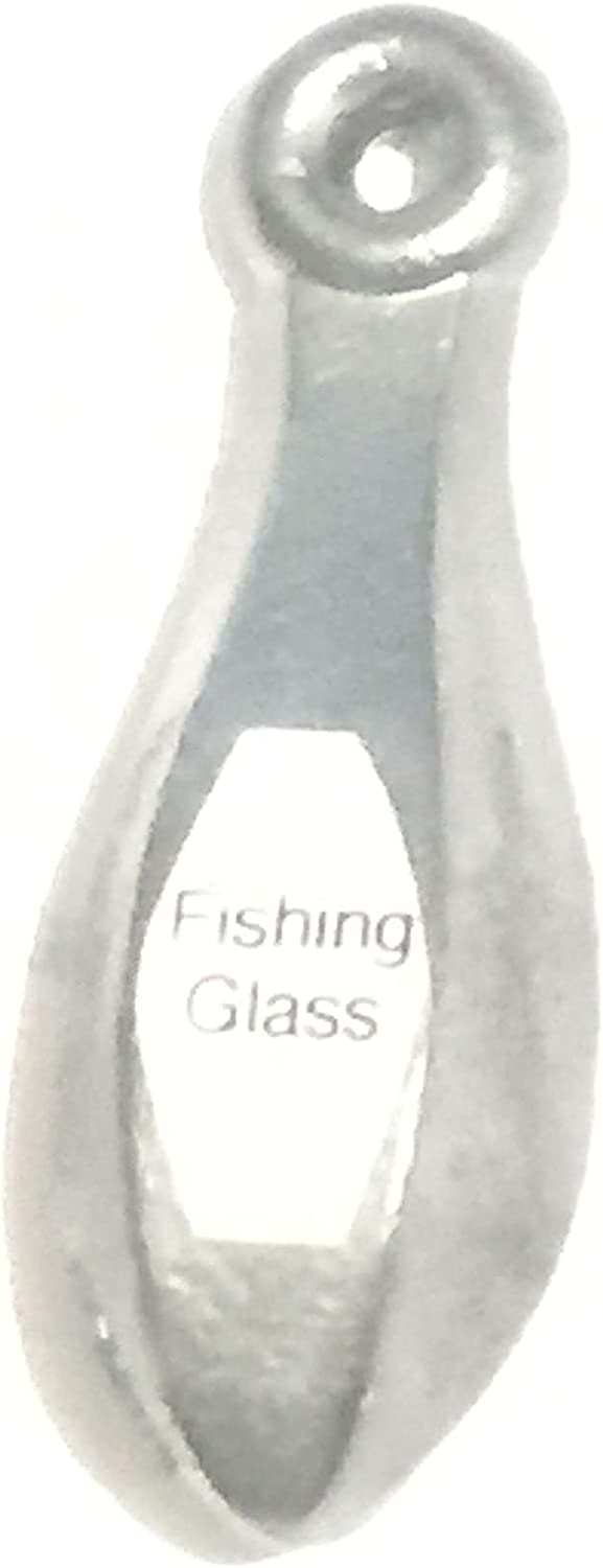 Free shipping / New Max 78% OFF Fishing Glass Bank Sinker Weight 1oz-40oz Lead