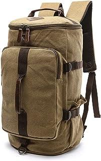 Dengyujiaasj Backpack, 6 Colour Two Sizing Male Backpack, for Hike Travel Backpacks, Canvas Men Backpack Rucksack, Tumid C...