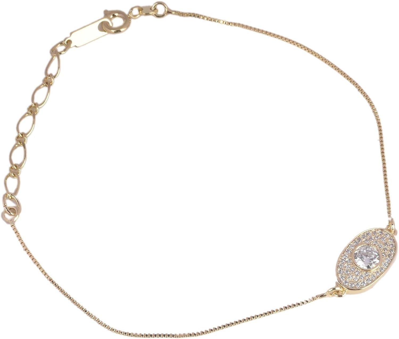gemhub Zirconia Bracelet, Bridal Jewelry Bridal Jewellery Crystal Bracelet Crystal Cubic Zirconia Bracelet