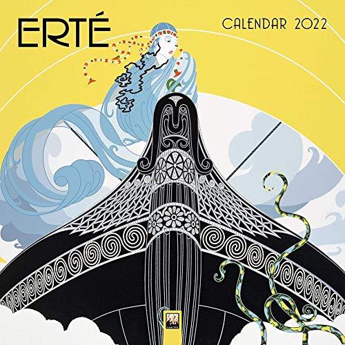 Erté 2022: Original Flame Tree Publishing-Kalender