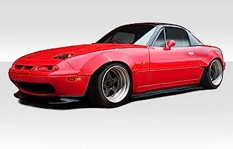 Extreme Dimensions Duraflex Replacement for 1990-1997 Mazda Miata Circuit Fender Flares Kit - 4 Piece
