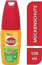 Autan Tropical Pumpspray, Mückenschutz für Körper & Gesicht, 100 ml