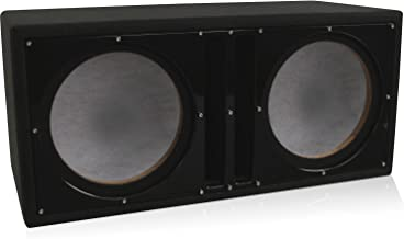 Best dual 12 ported sub box Reviews