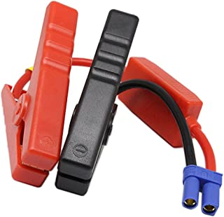 Alligator clip EC5 Battery Jumper Cable,SinLoon Booster Jumper Cables Automotive Jump Starter EC5 Connector Emergency Jump...