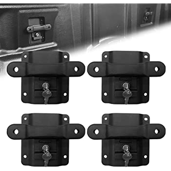 TIXO 4Pcs Heavy Duty Truck Bed Tie Down Anchors Boxlink Cleats Fit for Ford Models 2015-2019 F150 F250 F350 /& Raptor