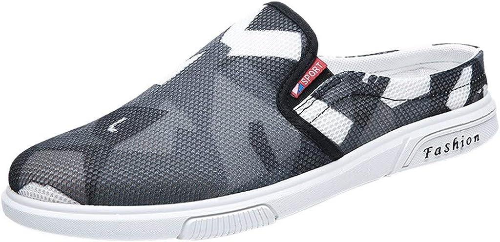 Huazi2 Summer Wear Non-Slip Trend Korean Beach Sandals Personality Half Slipper