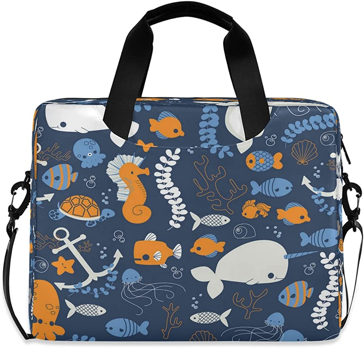 JMbuild Laptop Excellence Case 15.6 inch Ranking TOP14 Starfish Ocean Narwhal Com Dolphin