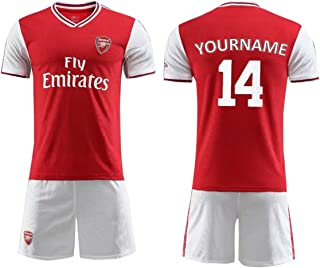Football Jersey Kits 19-20 Personalized Soccer Jersey Team Sports Shirt Football Uniform Custom Name/Number for Men Kids