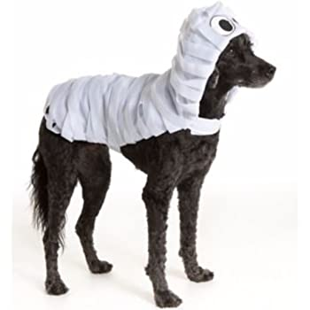 Amazon Com Pet Halloween White Mummy Monster Wrapped Pet Costume Medium Dog Puppy Clothing Pet Supplies The main cast clockwise from the front: pet halloween white mummy monster