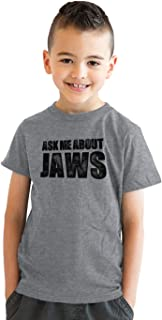 Youth Ask Me About Jaws Cool Movie Flip Shirt for Kids