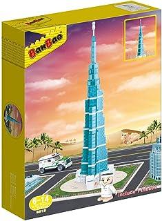 Banbao Burj Khalifa Crystal Clear, Multi-Colour, 37.5 cm, 5312