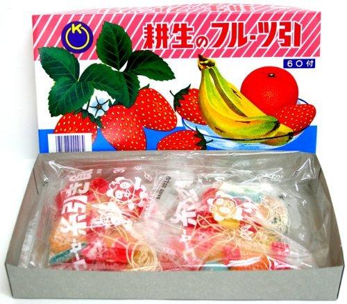 糸引き飴 フルーツ 60付