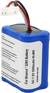 ブラーバ 380J バッテリー 7.2V 3200mAh for Irobot Braava 380J / 380T / Mint Plus 5200 5200c 5200B 対応 大容量 ニッケル水素 充電池