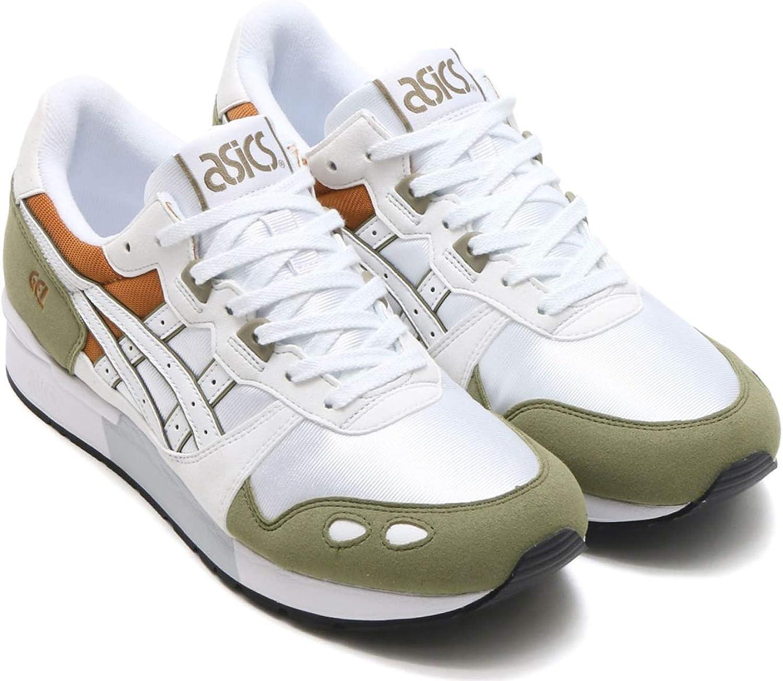 ASICS Unisex Gel-Lyte Turnschuhe Farbe  Weiß Olive (0801); Größe Größe  EUR 47   US 12.5   UK 11.5  hohe qualität und schnelles verschiffen