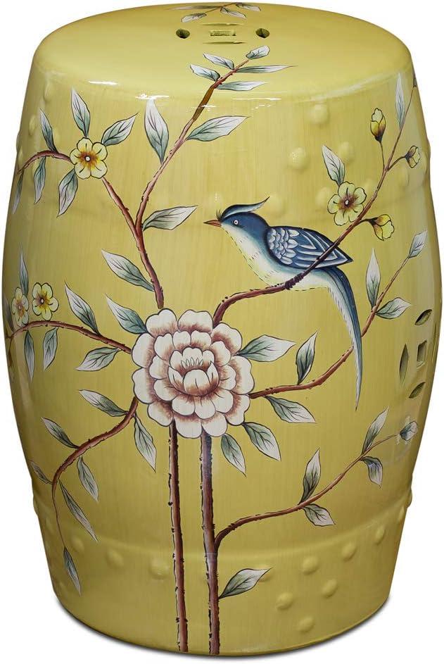 ChinaFurnitureOnline Porcelain Garden Stool Painted 5 ☆ popular Hand Flower Ranking TOP18