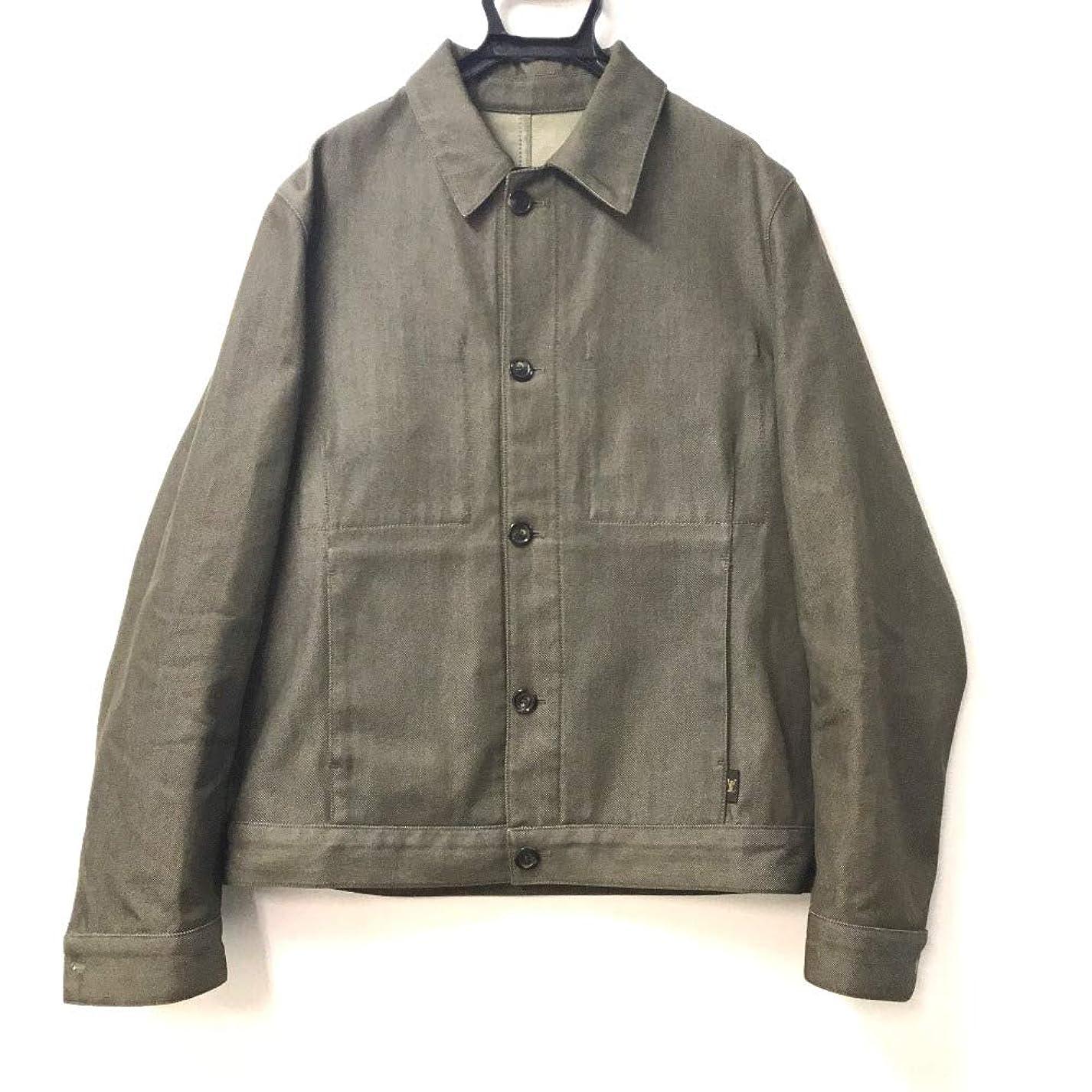 名詞後方混乱した(ルイ?ヴィトン)LOUIS VUITTON アウター シャツジャケット ウール/綿 メンズ 中古