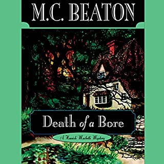 Death of a Bore audiobook cover art