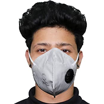 Allextreme P18-N95 SKI+ SITRA & DRDO Approved Disposable Face Mask with Breathing Valve (1 PC)