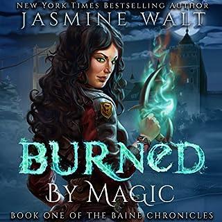 Burned by Magic audiobook cover art