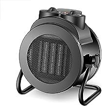 QQLK Mini Calefactor Silencioso De 2000W-3000W - Calefactor PortáTil EléCtrico, Apto para Hogares Y Oficinas,PTC2000W/black