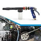 Rayinblue High Quality Car Wash Washing Spray Snow Foam Water Gun Lance Uses Hose Pipe UK