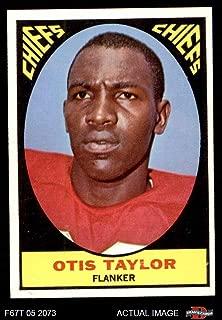 1967 Topps # 73 Otis Taylor Kansas City Chiefs (Football Card) Dean's Cards 5 - EX Chiefs