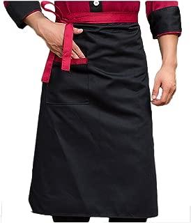 Nanxson Unisex Cook Apron Kitchen Hotel Food Service Bistro Chef Long Apron with Pocket CF3008