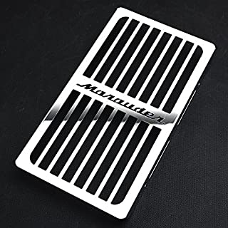 Motorparty Radiator Grill Cover Water Tank Grille Guard Protector For Suzuki Marauder VZ800 VZ 800 1997-2003 2002 2001 1999 1998,Stainless Steel,Marauder Pattern