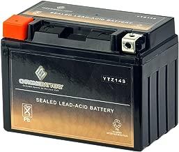 Chrome Battery YTZ14S High Performance Power Sports Battery
