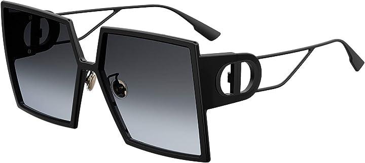 Occhiale da sole dior 30montaigne 807/1i nero grigio taglia 58 mm MONTAIGNE-30 8071I
