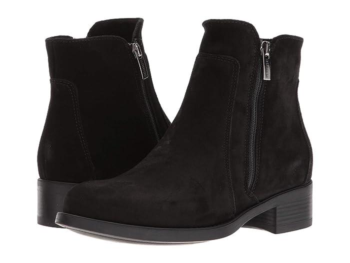 La Canadienne  Saria (Black Suede) Womens Dress Boots