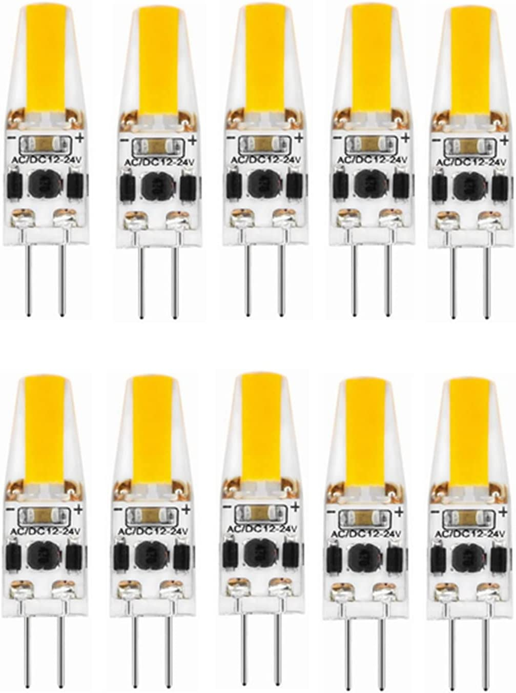 Easy-to-use Industrial Light Bulb 10pcs LED Be super welcome G4 Bi-Pin 3W COB Lamp