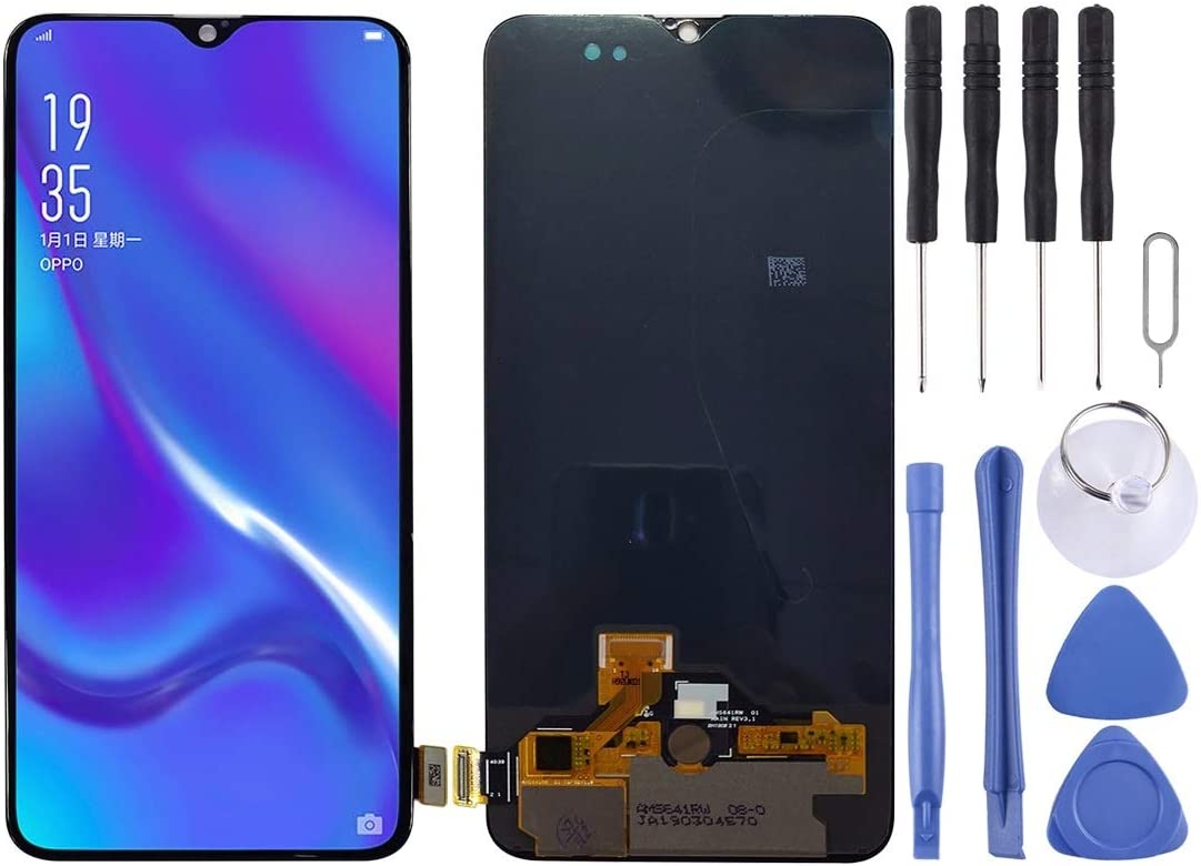 LCD Screen and Digitizer Full Assembly Oppo New Free Shipping K1 for Black Animer price revision Premi