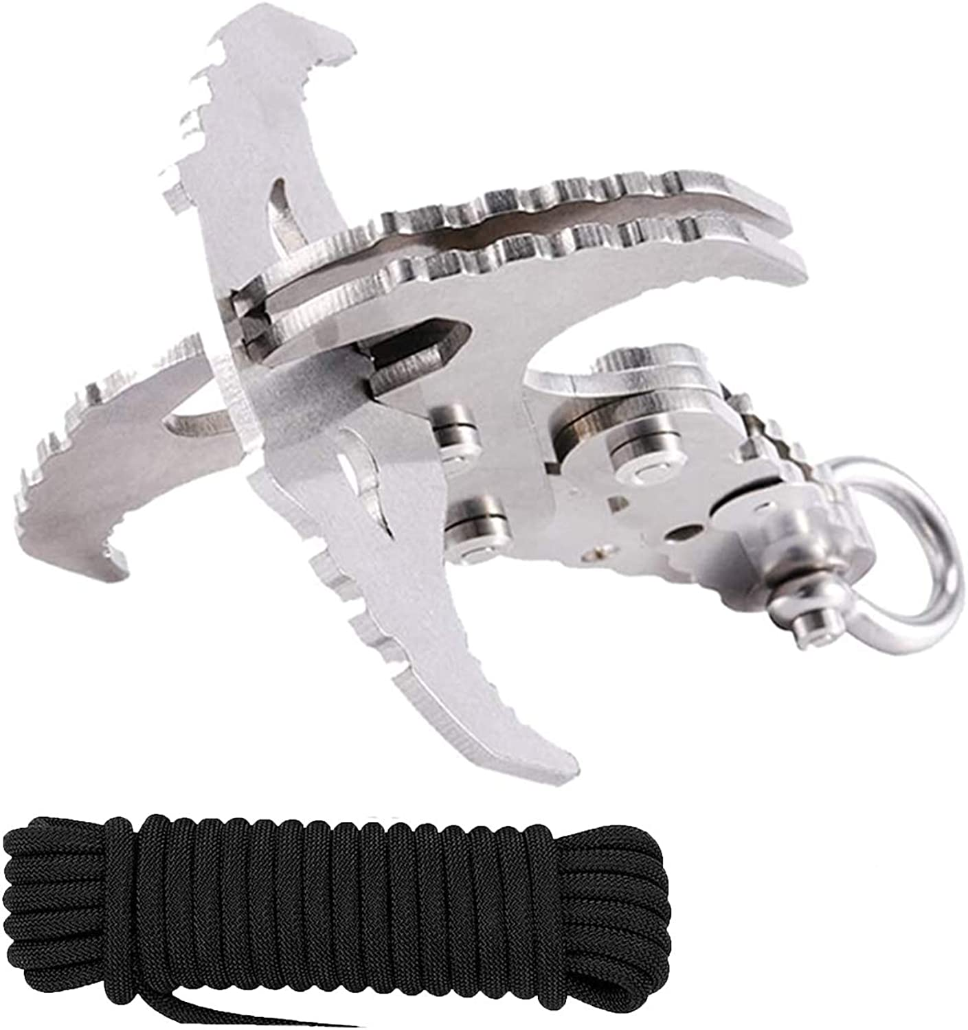 GearOZ Gravity Grappling Hook Popularity Claw Max 53% OFF Survival Hoo Folding