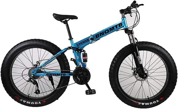 ANJING Bicicleta de Montaña de 26 Pulgadas con Doble ...