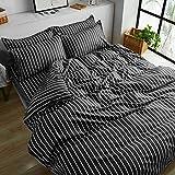 Juego de sábanas textiles para el hogar, juego de 4 piezas, juego de sábanas de verano cubiertas de 4 piezas, juego de dormitorio de estudiantes de tres piezas