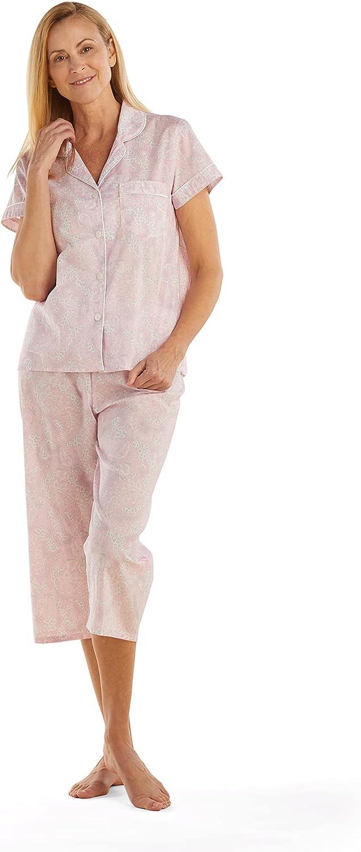 Miss Elaine Chicago Mall Pajama Set - Women's Sale Button-Down Shor PJ Cotton