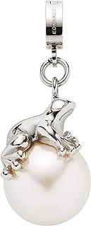 Jewels by Leonardo DARLIN'S dameshanger Agada, roestvrij staal met witte imitatie-parel, clip & mix systeem, grootte (B/H/...