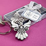 Angel design keychain favour