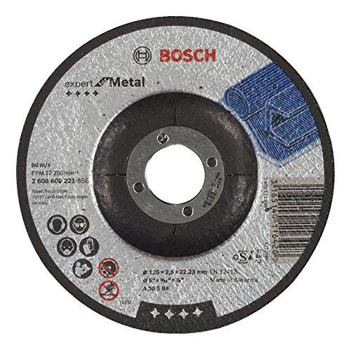 Bosch Professional Trennscheibe 125X2,5 Mm Gekr. F. Me 2608600221