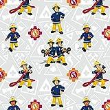 Jersey Stoff Feuerwehrmann Sam & Elvis Lizenzstoff - Preis