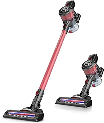Cordless Vacuum Cleaner, Lightweight&Multi-Accessory Suitable for Floor Carpet Pet Hair