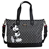 Disney Store Mickey Mouse Wickeltasche Storksak schwarz weiß Polka Dots NEU