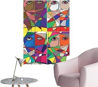 gorillaz stained glass prints