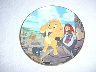 bradford exchange lion king plates