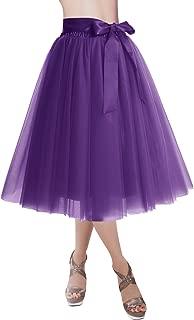 Best purple formal skirt Reviews
