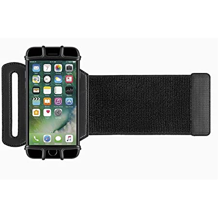 180°Rotatable Sport Running Cycling Forearm Armband Wrist Band Cell Phone Holder Case for iPhone 12 Pro Max, 11 Pro Max, 12, 11, 12 Pro, 12 Mini, Samsung S20 FE, S20 Plus, Note 20 Ultra, A71 A51, S20