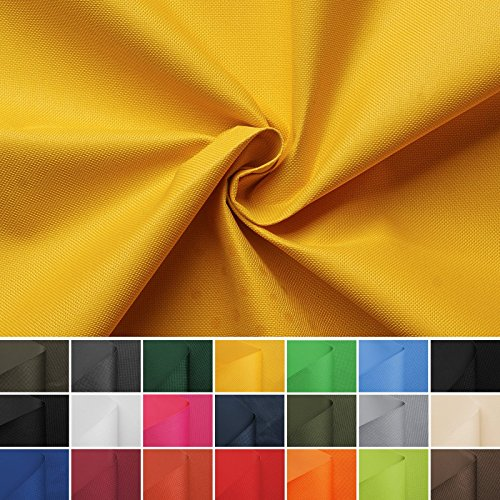 aktivstoffe Carry - Lona Impermeable - 100% poliéster - 21 Colores - por Metro (Amarillo)