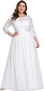 Best white maxi dresses plus size Reviews
