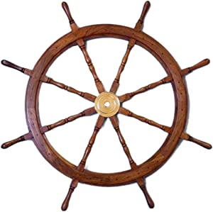 Sailor's Special Premium Ship Wheels | Home Decor Wall Sculptures | 36 INCHES